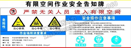 安全标志与设备管理