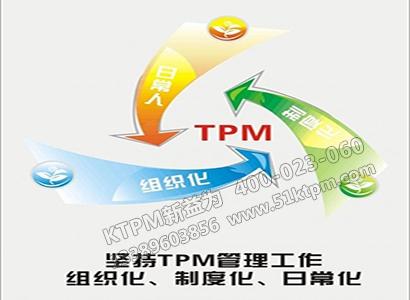 TPM管理三化